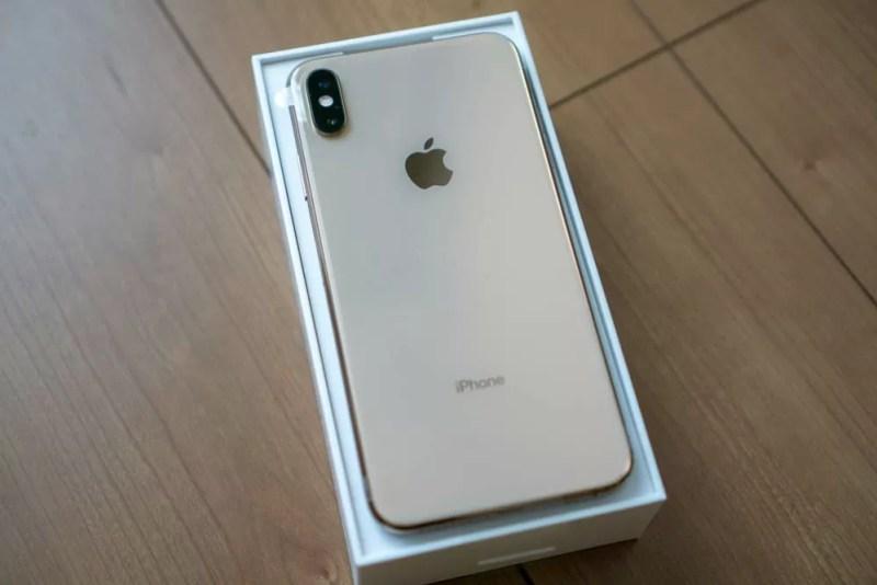 iPhone XS Maxとご対面