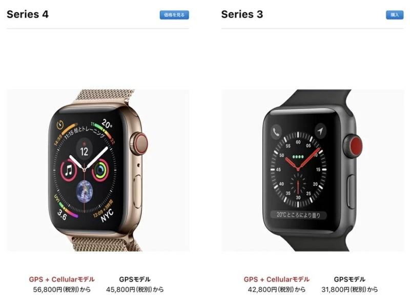 Apple Watchは歴代5モデル