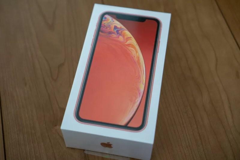 iPhone XR化粧箱