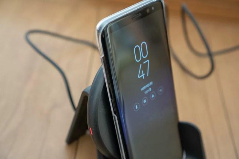Galaxy S8を充電