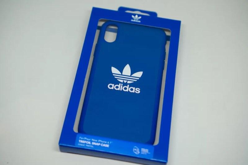 adidas Originals Moulded case iPhone XRブルーパッケージ