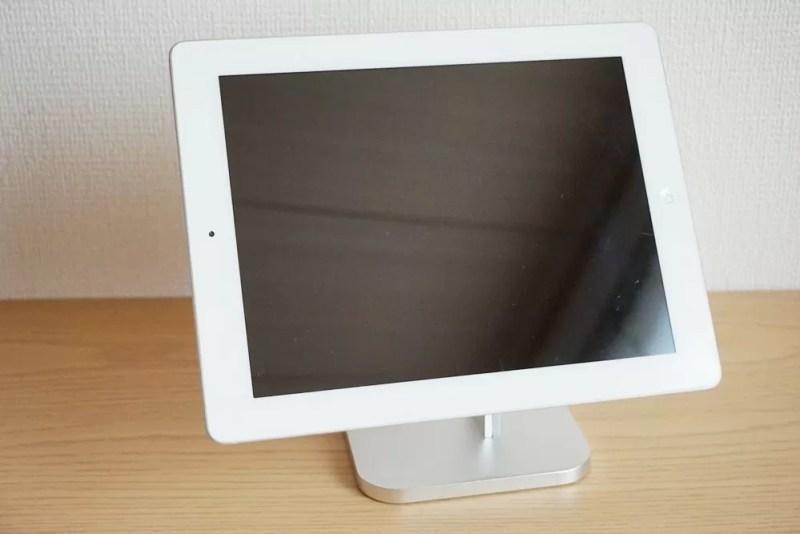 【Humixx 携帯電話スタンド】iPad2をのせる