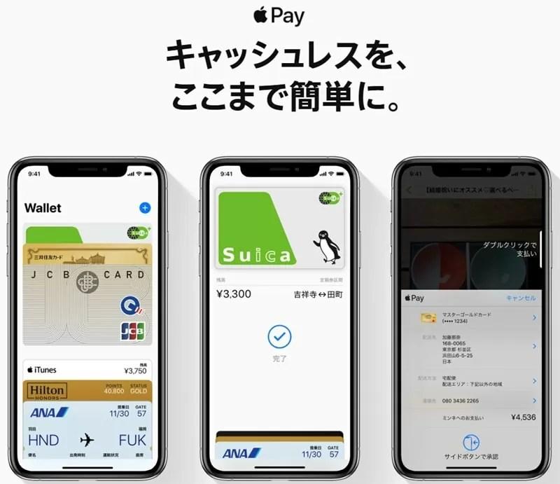 【Apple PayにSuicaを登録する】Suica