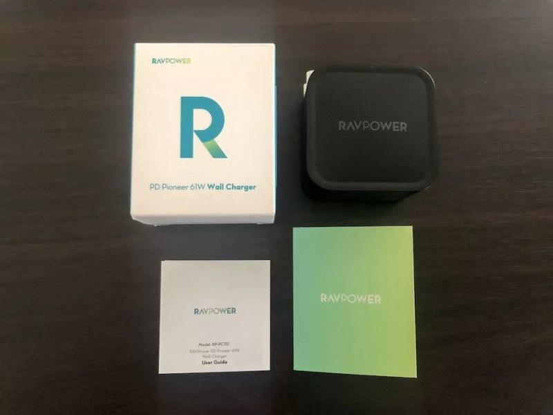 RAVPower 「RP-PC112」開封レポート2