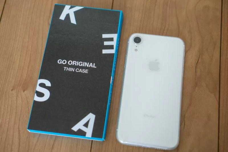 KASE「Go Original iPhone XRスリムケース」レビュー