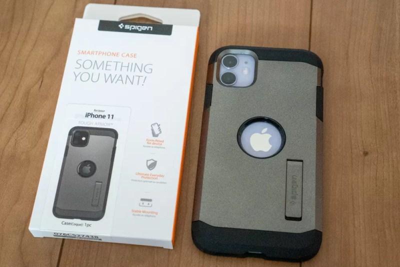Spigen iPhone 11・iPhone 11 Pro対応ケース「タフ・アーマー」レビュー