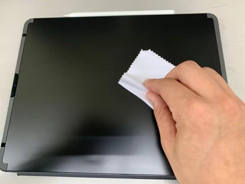 iPadに画面保護シートが必要な最大の理由は清潔さ
