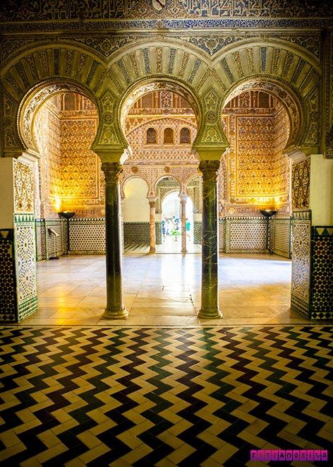 Real-Alcazar-Sevilha-arquitetura-visita