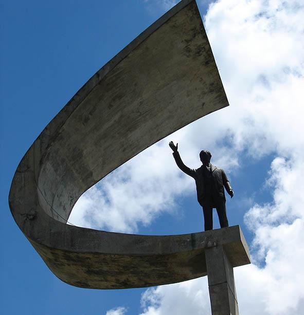 Brasilia-memorial-jk