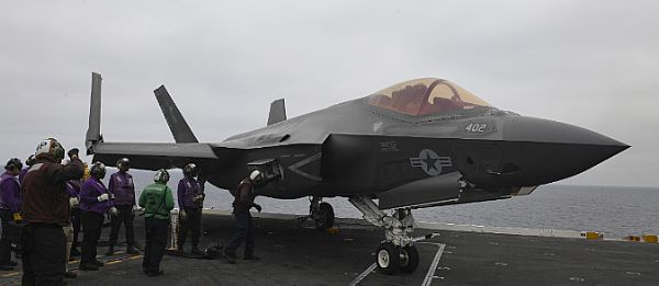 F-35C Lightning II Flight Operations On USS Nimitz (CVN 68)