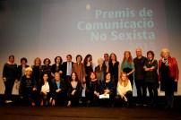 PREMIS DE COMUNICACIÓ NO SEXISTA 2015 El divendres 13 de novembre ha tingut lloc el lliurament dels Premis de Comunicació no Sexista 2015 en el marc de la commemoració dels 23 anys de l'Associació de Dones Periodistes de Catalunya. L'acte s'ha celebrat a l'Auditori del CaixaForum. Enguany, durant l'acte també s'ha lliurat el PREMI MARGARITA RIVIÈRE AL RIGOR PERIODÍSTIC AMB VISIÓ DE GÈNERE, que en la seva primera edició ha estat atorgat a la periodista MILAGROS PÉREZ OLIVA. Aquest premi es lliura en memòria de la periodista barcelonina Margarita Rivière Martí (Barcelona, 1944-2015).Barcelona. 131115.foto. Rosmi Duaso