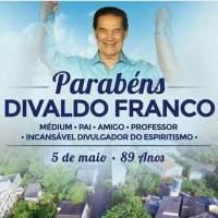 Feliz Aniversário, Divaldo Pereira Franco !!!
