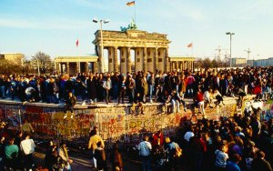 La caída del muro de Berlin