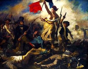 Francia y su diosa de la libertad