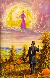 Hiram Edson tiene una visión del arca del pacto en el Santuario Celestial (Ap. 11:19).