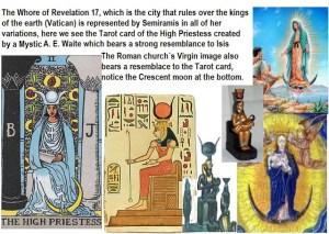 Semiramis, versión Egipcia, Babilónica y Católica.