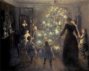 Culto al árbol de navidad