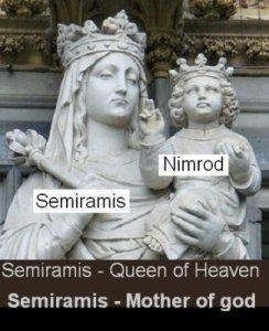 Semiramis y Tamuz versión católica.