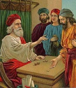 El rey y los deudores