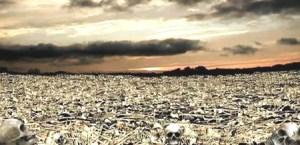 Valle de huesos secos.