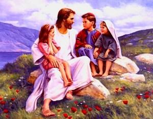 """""""Dejad que los niños vengan a mí."""" (Lucas 18:16)"""