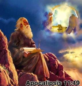 El apóstol Juan ve en visión el arca del pacto original con los Diez Mandamientos originales en el Santuario Celestial.