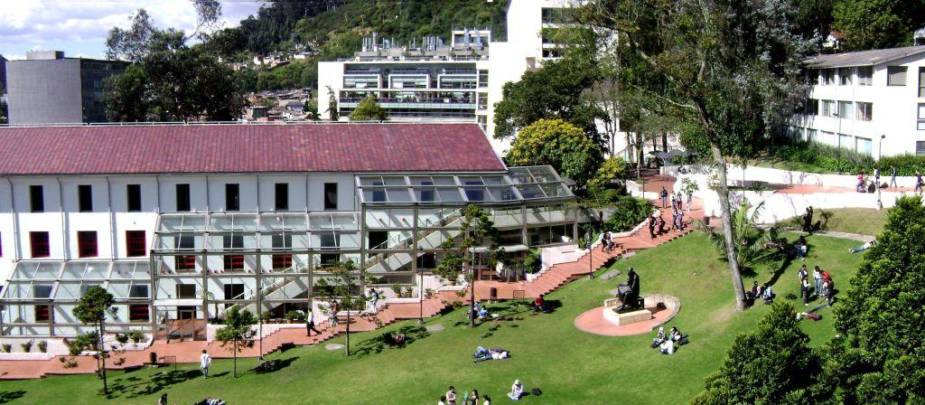 Universidad de los Andes Bogotá Arquitectura