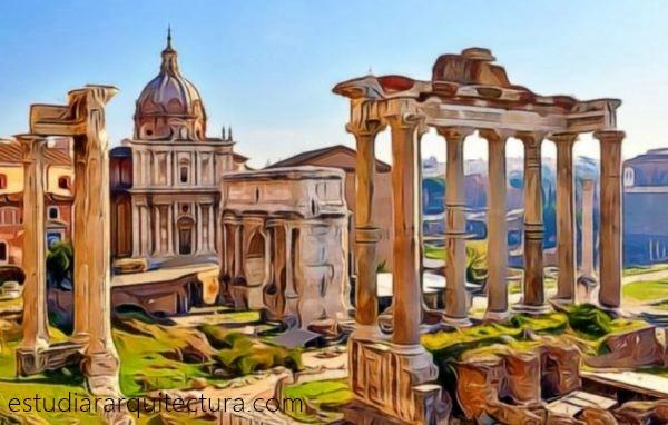 Arquitectura romana y griega