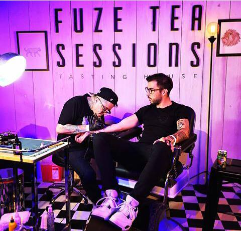 Fuze tea session con estudio 184, RECH