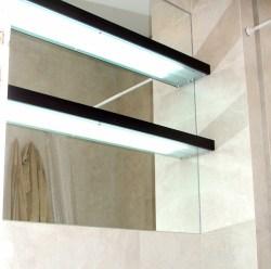Hogar - Baño - Estantes con iluminación