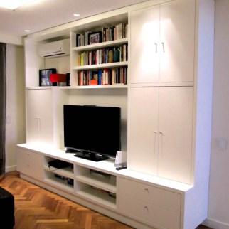 Living - mueble AV laqueado