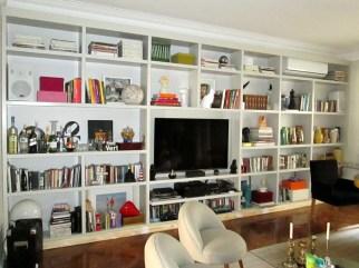 Hogar - Living - Biblioteca laqueada