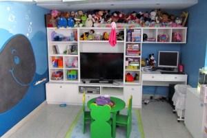 Hogar - Playroom - Mueble AV laqueado