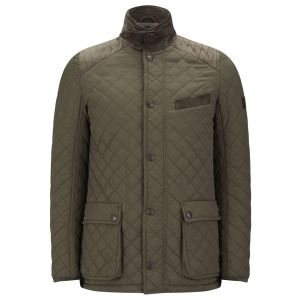quilted jacket cashmere lining