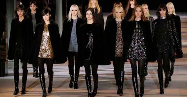 St Laurent ready-to-wear FW 2014-2015  collection