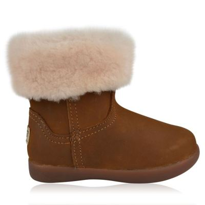 UGG Jorie II Leather Boots $60 from $75 Right Side