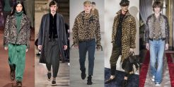 New York Fashion Week Trends Menswear Animal Prints