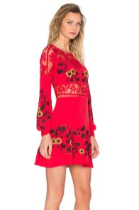 For Love and Lemons Isabella Long Sleeve Dress, $316_V2