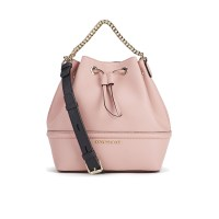 Karl Lagerfeld K:Klassik Drawstring Bag Misty Rose, $413.25