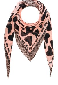 McQ Alexander McQueen McQ Hearts and Bolts Scarf 1, $160