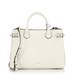Burberry Banner Medium Satchel Natural, $1,595