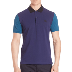 Burberry Owens Gravenhurst Colorblock Polo, $195