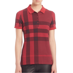 Burberry Signature Plaid Polo Peony Rose, $250