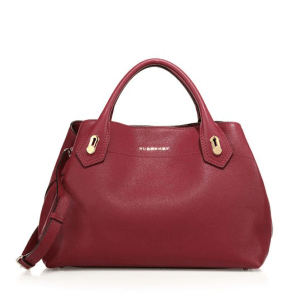 Burberry The Milton Medium Satchel Dark Plum, $2,295