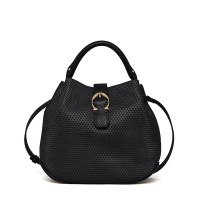Etienne Aigner Eti Mini Bucket Bag Black, $295