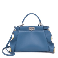 Fendi Peekaboo Leather Satchel, $3550