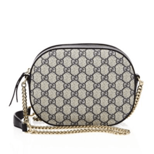 Gucci Supreme Chain Crossbody Bag, $950