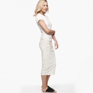James Perse Classic Skinny Dress Side Vintage, $225