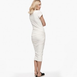 James Perse Classic Skinny Dress Vintage Back, $225