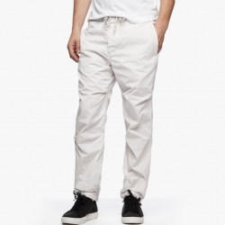 James Perse Clean Twill Mountaineering Pant Talc Pigment, $245